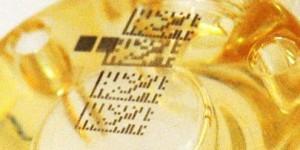 Marquage au laser de code barre datamatrix