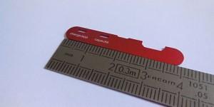Micro marquage laser capots