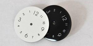 Marquage cadrans de montre
